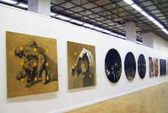 Art Moscow 2013 international art fair Royalty Free Stock Photography