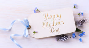 Art mother's day background Stock Images