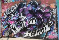 Art mural à Williamsburg est à Brooklyn Images stock