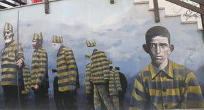 Art mural dans Ushuaia, Argentine Image stock