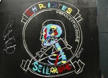 Art mural en peu d'Italie à Manhattan Images stock
