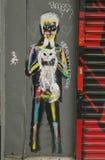 Art mural en peu d'Italie à Manhattan Photographie stock libre de droits