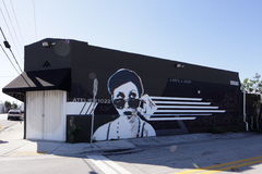 Art Murals at Wynwood Stock Image