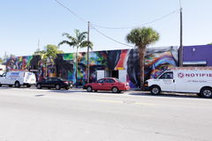 Art Murals at Wynwood Stock Photos