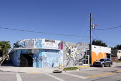Art Murals at Wynwood Stock Photography
