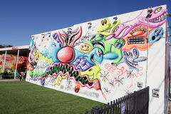 Art Murals at Wynwood Royalty Free Stock Photography