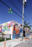 Art Murals at Wynwood Royalty Free Stock Photo