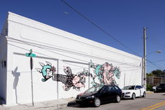Art Murals at Wynwood Stock Images