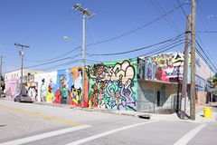 Art Murals at Wynwood Royalty Free Stock Images
