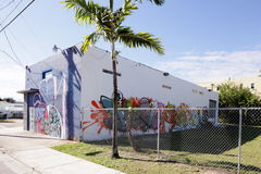 Art Murals at Wynwood Royalty Free Stock Photos