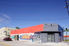 Art Murals at Wynwood Royalty Free Stock Image
