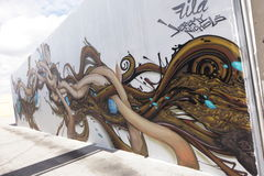 Art Murals at Wynwood Stock Photo