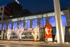 Art Museum contemporáneo de Montreal fotografía de archivo