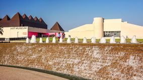 Art Museum de Tejas del sur en Corpus Christi, Tejas Imagen de archivo