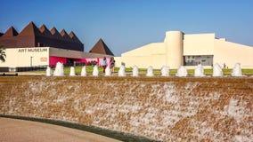 Art Museum de Texas sul no Corpus Christi, Texas imagem de stock