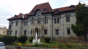 Art Museum från Campulung, Rumänien royaltyfria foton