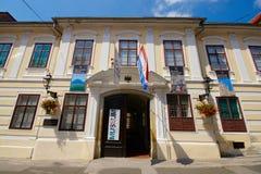 Art Museum ingenuo croato, Zagabria Fotografia Stock Libera da Diritti