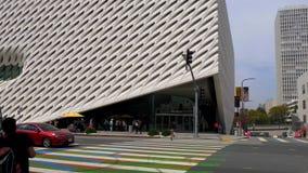 Art Museum largo na baixa de Los Angeles - CALIFÓRNIA, EUA - 18 DE MARÇO DE 2019 filme