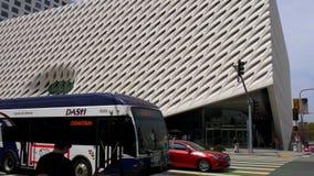 Art Museum largo na baixa de Los Angeles - CALIF?RNIA, EUA - 18 DE MAR?O DE 2019 vídeos de arquivo