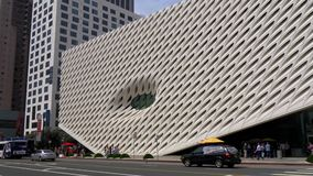 Art Museum largo na baixa de Los Angeles - CALIF?RNIA, EUA - 18 DE MAR?O DE 2019 filme