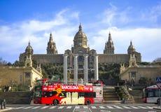 Art Museum nacional de Catalonia, Barcelona, Espanha Foto de Stock