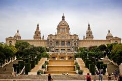 Art Museum nacional de Cataluña imagenes de archivo