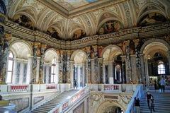 Art museum piano nobile - kunsthistorisches museum Royalty Free Stock Photo