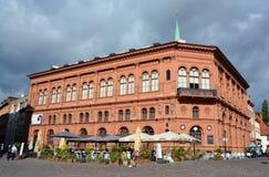 Art Museum Riga Bourse Royaltyfria Foton