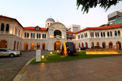 Art Museum of Singapore. Opened in 1996,[1] It is one of the first art museums with international standard museum facilities and Art Museum of Singapore Stock Photo