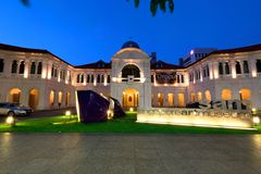 Art Museum of Singapore. Opened in 1996,[1] It is one of the first art museums with international standard museum facilities and Art Museum of Singapore Royalty Free Stock Image