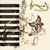 Art music background vector illustration