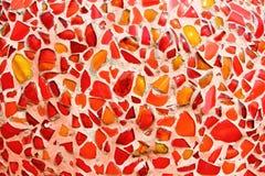 Art. muur van het achtergrond het kleurrijke glasmozaïek. Royalty-vrije Stock Afbeeldingen
