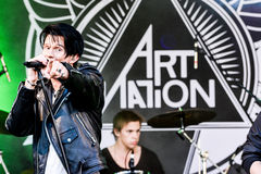 Art Nation Stock Afbeelding