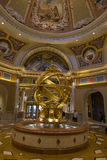 Art near the check in area of the Venetian hotel in Las Vegas. Royalty Free Stock Image