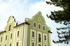 Art Nouveau. House ib bavaria Stock Images