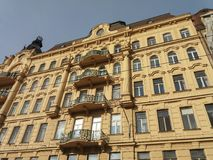 Art nouveau architecture in Brno Royalty Free Stock Photos