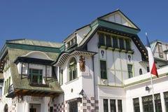 Art Nouveau Architecture in Valparaiso stock fotografie