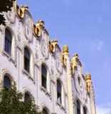 Art Nouveau-architectuur Stock Afbeeldingen