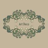 Art nouveau, art deco, modern, vintage elements Royalty Free Stock Image