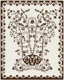Art Nouveau background Stock Photo