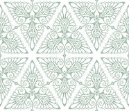 Art Nouveau background pattern Stock Photography