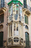 Art Nouveau balcony Royalty Free Stock Photos
