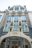 Art Nouveau Building Tallinn, Estonia stock photography