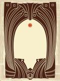 Art-Nouveau Border Royalty Free Stock Image