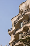 Art nouveau building Stock Photography