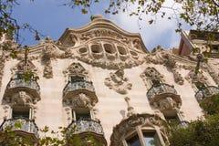 Art nouveau building Stock Photos