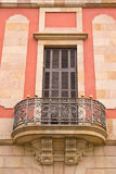 Art nouveau building. Citadel park in Barcelona in the autumn, Spain Royalty Free Stock Photography
