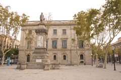 Art nouveau building. Typical Art Nouveau building in Barcelona, Spain Royalty Free Stock Photography