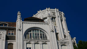 Art nouveau building in the center of budapest Stock Image