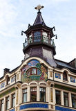 Art Nouveau building at Leipzig, Germany Royalty Free Stock Photo